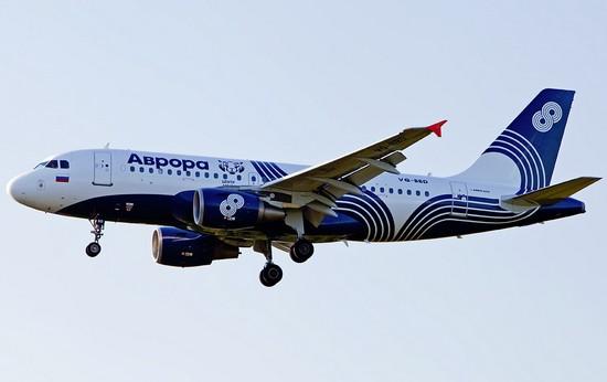 самолет aurora airlines - аврора